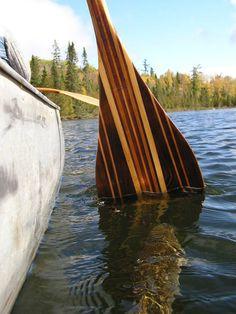 Striped bass canoe