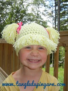 Ravelry: Cabbage Patch Hat pattern by Angie Barrett