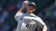 A perfect game pitched against the M's today: by White Sox pitcher Philip Humber.