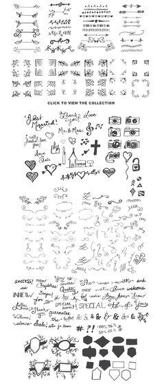 Really Freakin' Big Illustration Pack b   Design Bundles