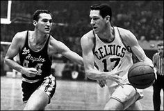 John Havlicek -16 yrs, 1,270 gms, 26,395 pts, 20.8 points to rank as the Celtics' all-time leading scorer & the sixth-highest scorer in NBA history. 8,007 rebounds, 6,114 assists, & played on 8 Boston championship teams.