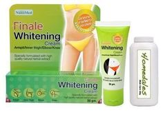 Finale Whitening Cream - Armpit/Inner Thigh/Elbow/Knee :30g with Homedales Skin Care 50g by Finale. $14.90. Helps brightening underarm, groin area. Lightens dark spot while removing dead skin cell gradually within 4 weeks.. FinaleWhitening Cream for Armpit/inner thigh/elbow/knee. Complimentary Homedales skin care 50g. Skin Care Set includes:. Ships in a sturdy box for extra protection. Finale whitening cream helps brightening of underarm, groin area. Lightens dark...