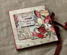 Blue Fern Studios - цветочный миник для вдохновения бумагой