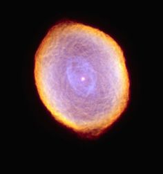 The planetary nebula IC 418 lies about 2,000 light-years from Earth. A planetary nebula represents the final stage in the evolution of a star similar to our Sun.