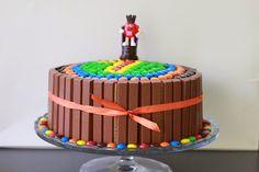 Sprinkles on a cupcake: M&M's verjaardagsparty + taart