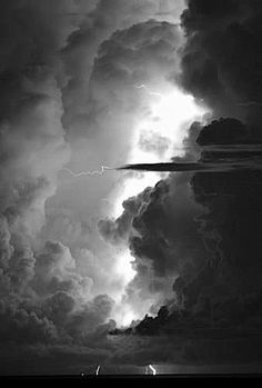 Black and white clouds photography nature beautiful