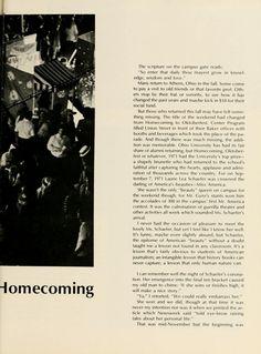 Athena, 1972:: Ohio University Archives