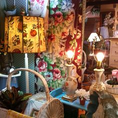 Once a month there is a fabulous show put on by Sage Farm in Stratham NH.  This is usually run on the first weekend of the month. Each month they have a different theme... very creative dealers! Prices are very reasonable and you should check out their facebook page!