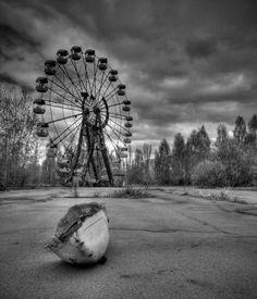 Abandoned Amusement Park, Chernobyl, Ukraine