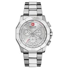 Swiss Military Herren 42mm Chronograph Saphirglas Datum Uhr 06-5188.04.001 - http://uhr.haus/swiss-military/swiss-military-herren-42mm-chronograph-datum-uhr