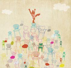 Amy Sullivan - Sasquatch + Eames Chair = LOVE. - The Jealous Curator