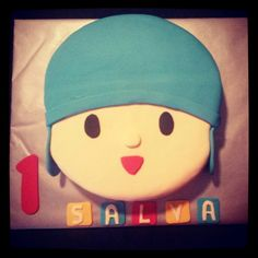 Tarta decorada Pocoyo