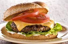 Hamburger Recipes : Made-Over Cheeseburgers