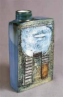 """Troika chimney vase - 7⅞"""" high (L.T)"""