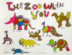Niki de Saint Phalle, 'The Zoo With You,' 1970, Nohra Haime Gallery
