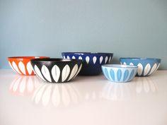 black cathrineholm enamel bowl by RabbitAndRally on Etsy, $68.00