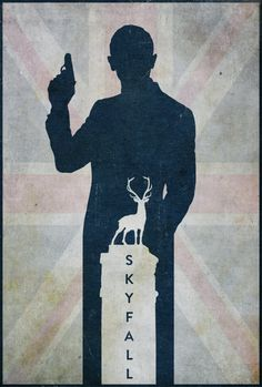 Skyfall - minimal movie poster - Edward Julian Moran II