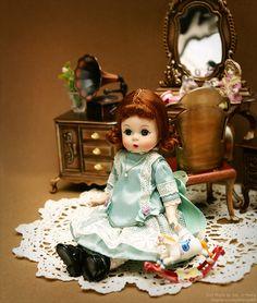 Madame Alexander (1950s) by dressy doll, via Flickr