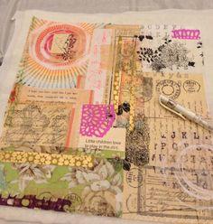 CREATE retreat paper quilt Chicago/Lisle 2013