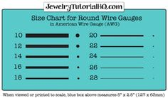 Jewelry wire gauge size chart awg american wire gauge jewelry wire gauge size chart awg american wire gauge greentooth Image collections
