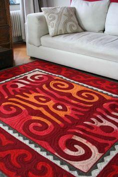 Shirdak Carpet. Felt carpet from Kyrgyzstan. Shyrdak Buy Online.