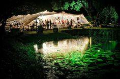 Wedding tent. Outdoor wedding.