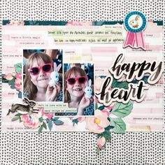 Happy Heart - Crate Paper - Chasing Dreams Collection