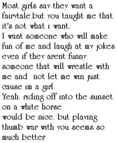 most girls say they want a fairytale - Google Search