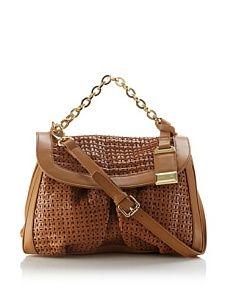 Cerruti Women's Kelly B Handbag, Brandy, One Size