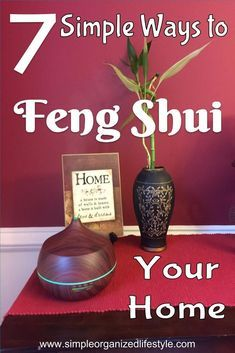 What does it mean to Feng Shui your home? It's adding simple elements for a space that is more calm and relaxing. These are simple ways you can transform any space with Feng Shui.