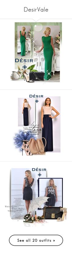 """""""DesirVale"""" by marinadusanic ❤ liked on Polyvore featuring Franz Collection, Chanel, Lancaster, Giuseppe Zanotti, Calvin Klein, Christian Louboutin, J.W. Anderson, Jimmy Choo, Avon and Joanna Maxham"""