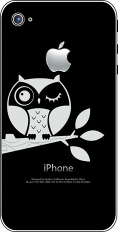 Owl Wink by iTattoo at iTattoo.com