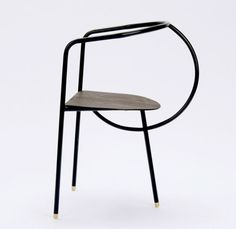 side chair 'The FLUX Collection' by Tine Daring Trendy Furniture, Metal Furniture, Home Furniture, Furniture Design, Furniture Ideas, Furniture Cleaning, Furniture Stores, Table Design, Chair Design