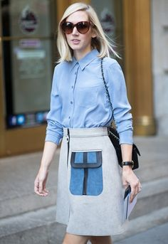 60s style skirt and top - Google Search