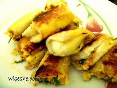 Bread Paneer rolls with pictures and video