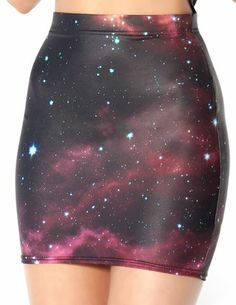 Galaxy Pink Skirt