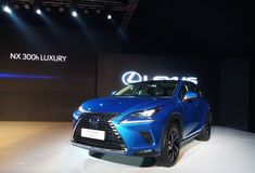 Lexus NX 300h hybrid SUV Launched In India