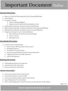 Library Organization, Binder Organization, Organizing Paperwork, Organizing Life, Household Organization, Document Safe, Document Folder, Household Notebook, Household Binder