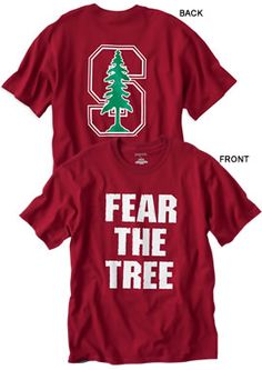 Stanford Fear The Tree t-shirt