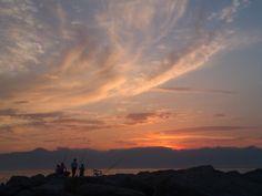 Un bel tramonto a Pellaro (RC). By Daddarius