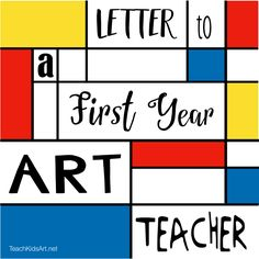Letter to a First Year Art Teacher - practical advice from the trenches!