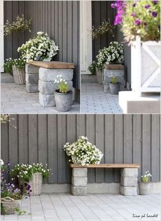 10 Cool DIY Outdoor Bench Projects You Will Love 10 Cool DIY Outdoor Bench Projects You Will Love The post 10 Cool DIY Outdoor Bench Projects You Will Love appeared first on Outdoor Diy. Outdoor Projects, Garden Projects, Diy Projects, Garden Nook, Diy Garden Decor, Garden Decorations, Diy Bench, Back Gardens, Raised Garden Beds