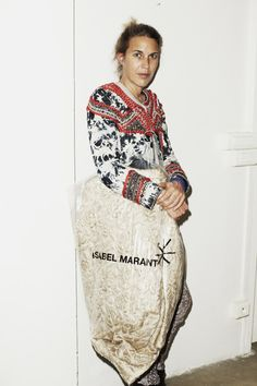 I love this woman and all her designs! - Isabel Marant for Self Service Magazine by Maciek Kobielski