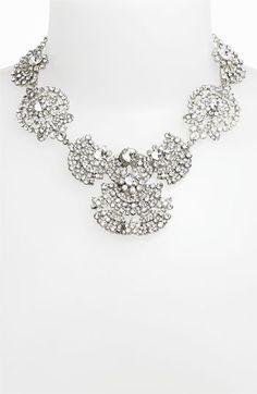 Nina 'Acacia' Crystal Frontal Necklace | Nordstrom