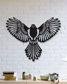 Kartal Metal Tablo - Eagle