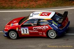 The Late and Great Colin McRae pictured on WRC Spain a few years ago.