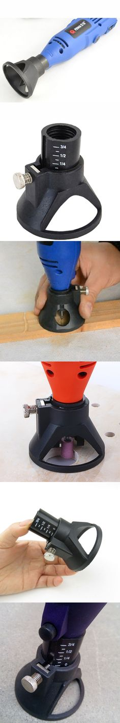 DREMEL Drill Dedicated Locator,Professional Carving,grindering & polishing located Horn for Dremel drill Rotary accessories