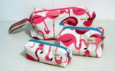 Kit Necessaire Flamingos AgnesRasta