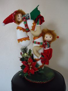 Christmas Mood, Christmas Crafts, Christmas Ornaments, Doll Face, Pin Cushions, Easter Crafts, Elves, Sewing Crafts, Diy And Crafts