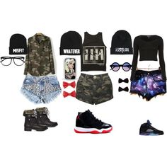 """#4"" by alissa256 on Polyvore cheap jordan 5 only $63, save up to 54% off for all #Nikes #Shoes"